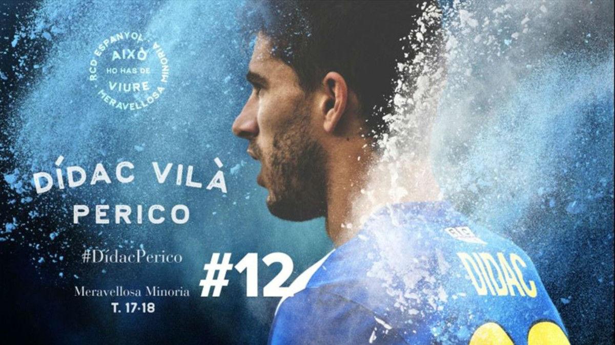 Dídac Vilà vuelve al Espanyol