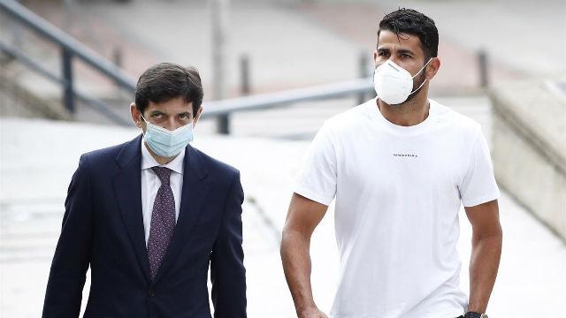 Diego Costa reconoce un fraude a Hacienda de algo más de un millón de euros