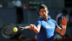 Djokovic se siente en plenas condiciones antes de Roland Garros