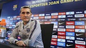 Ernesto Valverde en Sant Joan Despí