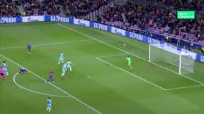 La escuadra evitó un golazo de Messi