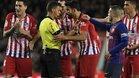 El extremeño expulsó a Costa en el último Barça-Atlético