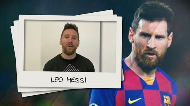 La felicitación de Messi a SPORT por su 40 aniversario