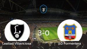 El Formentera se queda a las puertas de la final de los playoff tras perder 3-0