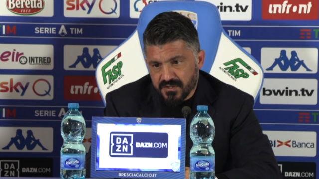 Gattuso habló antes de que el Nápoles se mida al FC Barcelona