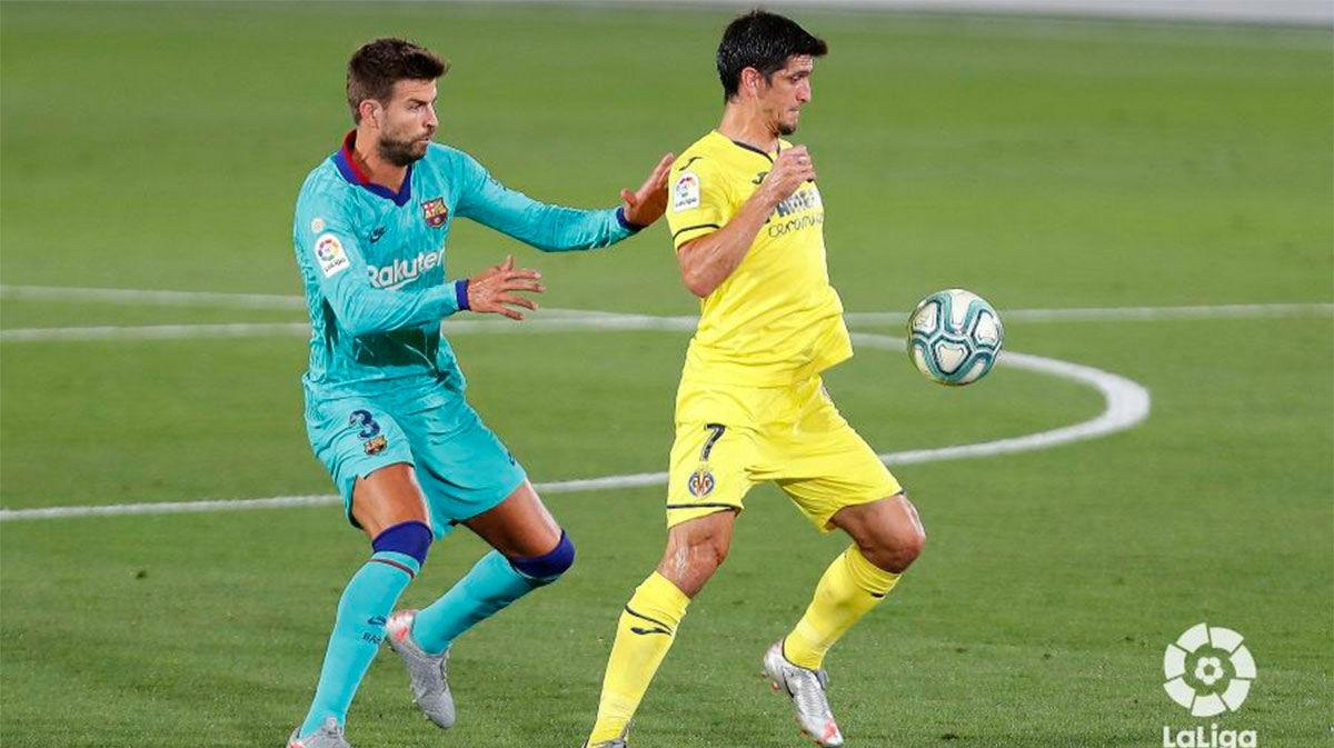 Gerard Moreno anotó en único tanto del Villarreal