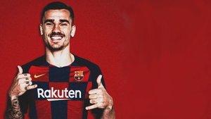 Griezmann ya es jugador del FC Barcelona
