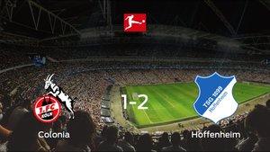 El Hoffenheim deja sin sumar puntos al Colonia (1-2)