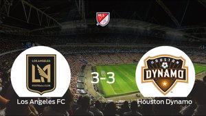El Houston Dynamo consigue un empate a tres frente al Los Angeles FC