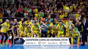 Jaén Paraíso Interior derrotó a Movistar Inter en la prórroga de la final de la Copa de España