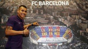 Jeison Murillo, defensa del FC Barcelona