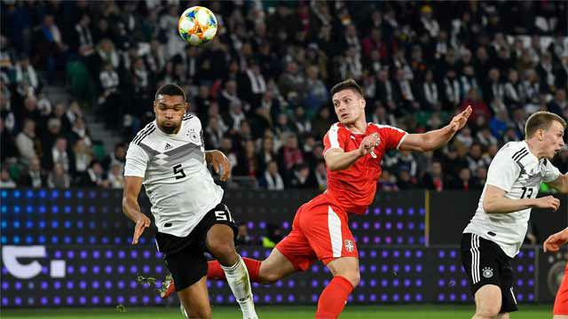 Jovic traslada su racha con Serbia: gol a Alemania a los 12 minutos