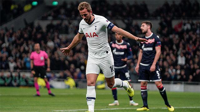 Kane ayudó con dos golazos en la victoria ante el Estrella Roja