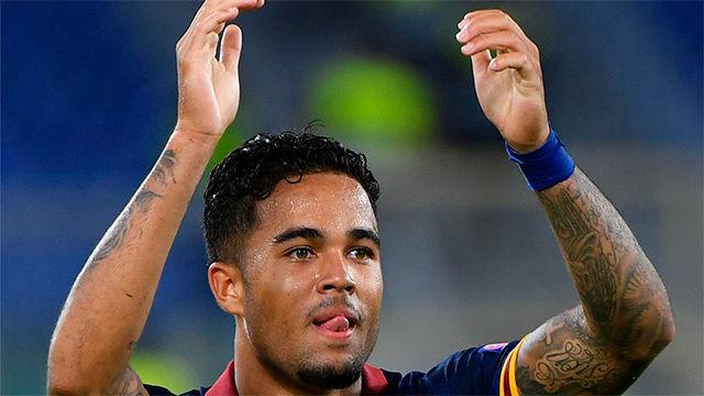 Kluivert ayuda con un gran gol a la victoria de la Roma ante el Estambul Basaksehir