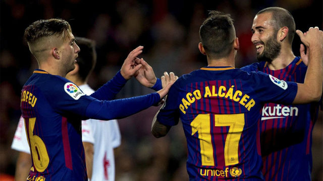 LACOPA | FC Barcelona - Murcia (5-0): El gol de Aleix Vidal