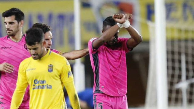 LALIGA | UD Las Palmas - Levante (0-2): La triste celebración de Doukouré