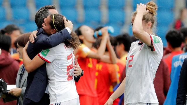 Las jugadoras de La Roja analizan el empate contra China