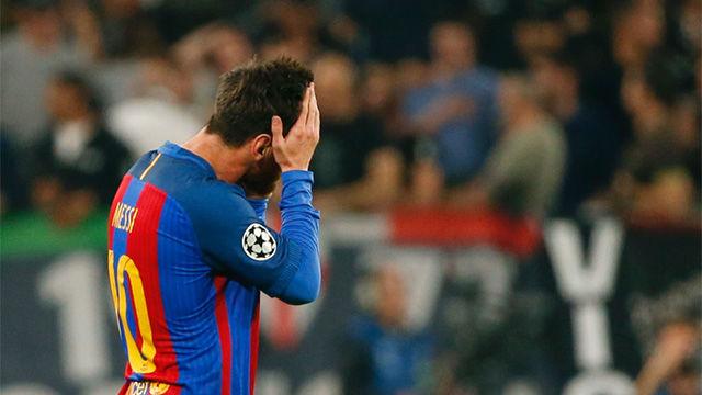 Las mejores imágenes del Juventus - FC Barcelona (3-0)