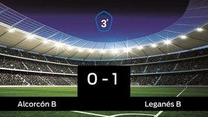 El Leganés B vence en el Santo Domingo (0-1)