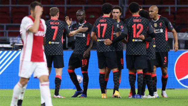 El Liverpool empieza la Champions venciendo al Ajax