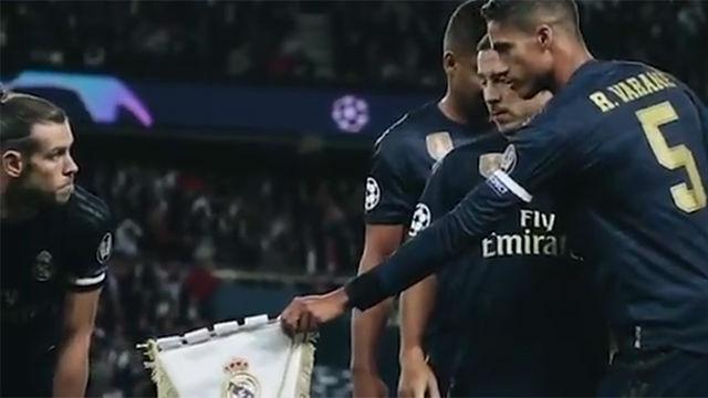 Llevar el escudo del Real Madrid es un orgullo...¿verdad Bale?