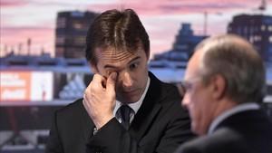 Lopetegui ha llorado en su presentación junto a Florentino Pérez