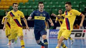 Los jugadores de fútbol sala, atentos ante los ERTE