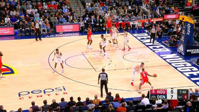Los Rockets vencen a domicilio ante los Nuggets