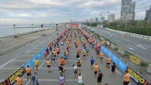 Los runners ha vuelto a la calle en la Cursa de la Mercè
