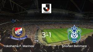 Los tres puntos se quedan en casa: Yokohama F. Marinos 3-1 Shonan Bellmare