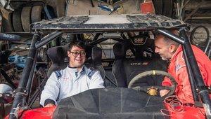 Lucas Barrón es el primer participante con síndrome de Down en el Dakar