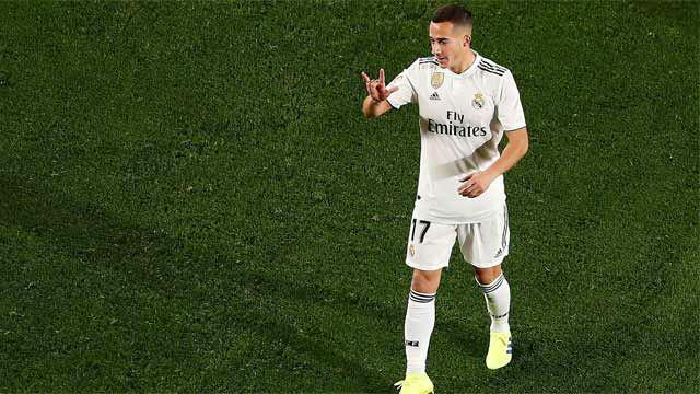 Lucas Vázquez adelantó al Real Madrid en el marcador