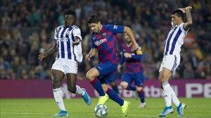 Luis Suárez es el cuarto máximo goleador del Barcelona