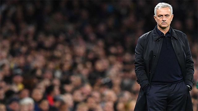 Mourinho, en estado puro tras ganar a Olympiakos