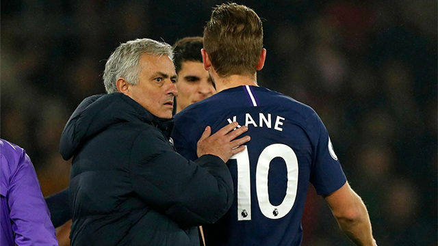 Mourinho no se muestra esperanzado con la lesión de Kane