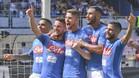 El Nápoles perdió en Manchester... Pero lleva una marcha perfecta en la Serie A