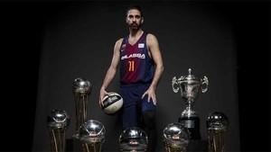 Navarro, leyenda en activo del Barça Lassa