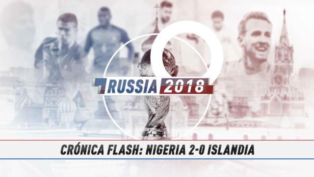Nigeria mantiene a Argentina en la pelea