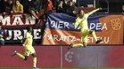 Pau Torres celebra el gol ante Osasuna de la jornada pasada