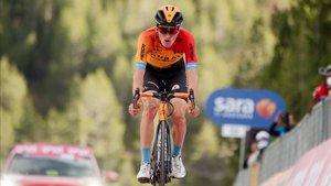 Pello Bilbao cree que aún puede acabar en el podio del Giro