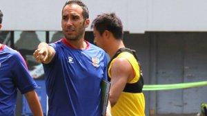 Pep Muñoz ha estado tres años en el Qingdao Huanghai