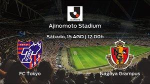 Previa del encuentro: el FC Tokyo recibe al Nagoya Grampus