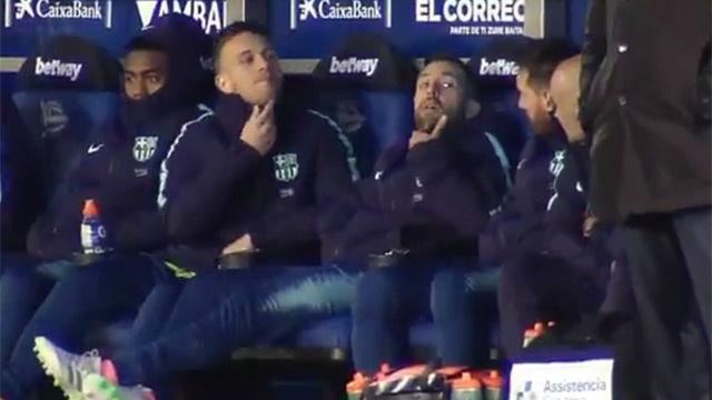 ¿Qué querían saber Arthur y Alba de la barba de Messi?