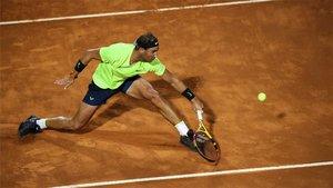 Rafa Nadal debutó en Roland Garros 2020