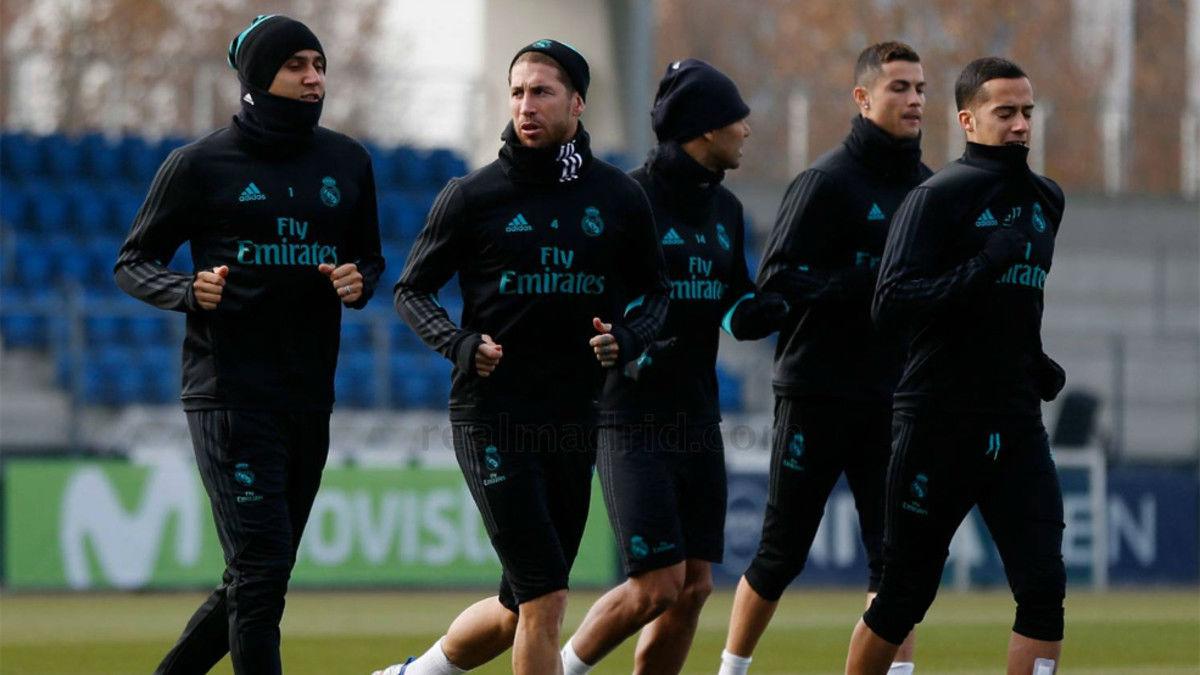 El Real Madrid comienza a preparar el partido ante el Sevilla