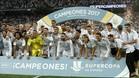 El Real Madrid, vigente campeón de la Supercopa de España 2017