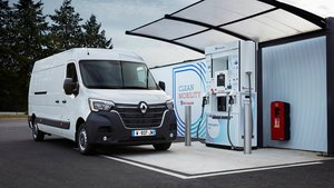 Renault apuesta por el hidrógeno para sus coches comerciales.