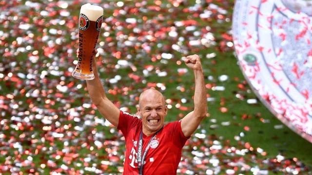 Robben vuelve a entrenar con el Bayern... telemáticamente