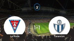 La Roda y el Tarancon se reparten los puntos tras su empate a uno