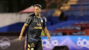 Ronaldinho habló de su amigo Messi en México